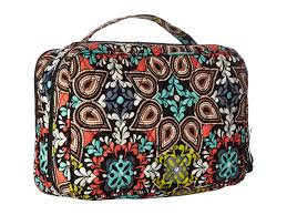 sierra luge accessory vera bradley large blush brush makeup case lyst