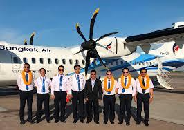 Bangkok Airways Welcomes Its Latest Atr 72 600 Aircraft