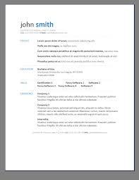 Creative Resume Templates Free Word Free Creative Resume Templates For W Myenvoc 73