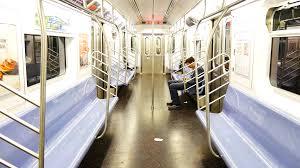 empty subway train. Exellent Empty Nearly Empty Subway Train To 34th Street NYC Stock Video Footage   Videoblocks On Empty Subway Train P