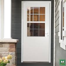 the larson cedar storm door boasts