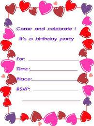 Invitation Customized Free Printable Invitation Maker Online