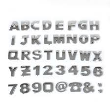 car letter decals 3d car metallic alphabet letter number symbol emblem decal stickers