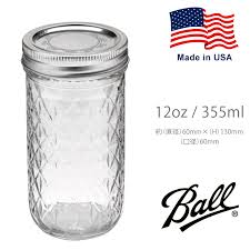 4u clothing casual and brand   Rakuten Global Market: Mason jar ... & Mason jar Ball Quilted Crystal Jelly Jars packages 12 oz 355ml glass ball  glass bottle American Adamdwight.com