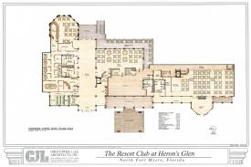 The Club at Heron    s Glen   CJL ARCHITECTSupper floor plan jpg