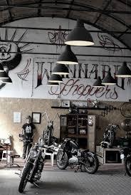 best 25 motorcycle garage ideas