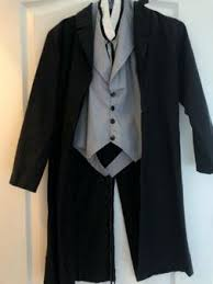 Charades Costume Size Chart Child Abraham Lincoln Halloween Costume