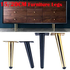tapered wood legs uk detail feedback questions about furniture table metal sofa cupboard cabinet leg feet