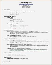 Sample Resume Objective Statements For High School Students Unique
