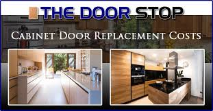 Average Cost To Replace Kitchen Cabinets Fascinating Cabinet Door Replacement Costs The Door Stop