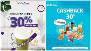 Promo Chatime April 2019 - Bayar dengan GoPay Dapat Cashback hingga 30  Persen, Lihat Ketentuannya - Tribun Travel