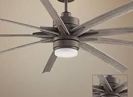 84 odyn matte greige led outdoor ceiling fan home