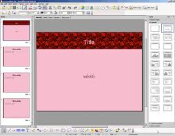 Open Officetemplates Openoffice Org Training Tips And Ideas A Few Openoffice Impress