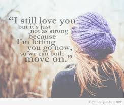 Love Move On Quotes