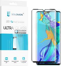 <b>Защитное стекло Solomon</b> 3D для Huawei P20 Lite (Black)