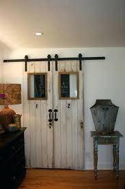 indoor barn door track system sliding closet doors modern best shabby chic  with window for interior .