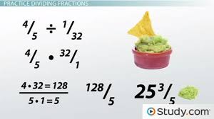 Dividing Fractions and Mixed Numbers - Video & Lesson Transcript ...