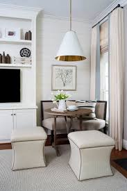 Love this nook featuring a Goodman Hanging Lamp by Thomas O'Brien | http:
