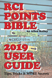 Rci Points Chart Rci Points Bible 2019 User Guide Tips Tricks More