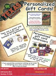 free 5 00 co branded gift cards from texas roadhouse trexlertown lehigh valley elite network