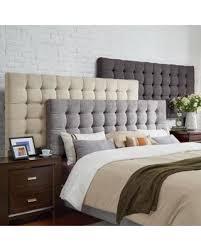 king size headboard. Exellent Headboard Briella Tufted Linen Upholstered Kingsize Headboard By INSPIRE Q Modern  Dark Grey For King Size A