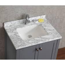 30 Bathroom Cabinet Buy Vincent 30 Inch Solid Wood Double Bathroom Vanity In Charcoal