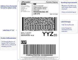 Online Shipping Labels Purolator Shipping Label Enhancements