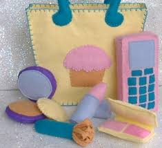 super cute felt makeup kit you can the pattern at an etsy to
