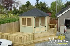 corner summer houses in northern ireland