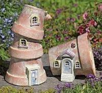 how to make a fairy garden house. Fine Make FlowerPotFairyHouse Flower Pot Fairy Houses For How To Make A Fairy Garden House N