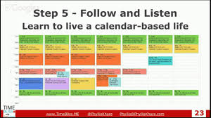 Planning For 2015 Success Using Your Google Calendar Timeless