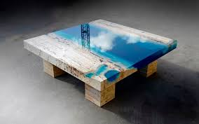 Artistic Coffee Table Design Wood