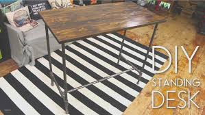 industrial pipe furniture. Maxresdefault. DIY Standing Desk From Industrial Pipe Furniture Y