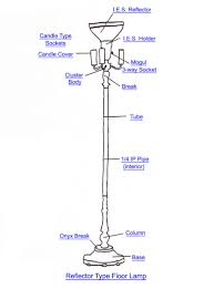 reflector type floor lamp lighting and chandelier how to s standing lamp replacement parts