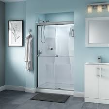 delta shower doors sd3276471 trinsic 48