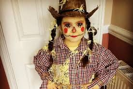 lily as the scarecrow from wizard of oz sent by amy watson for world