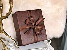 brown faux leather gift wrap paper for large presents 5 sheets each 31 x