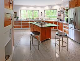 Polished Concrete Kitchen Floor Kitchen Floor Stained Concrete Floor Polished Concrete Floor