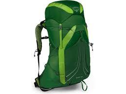 Osprey Exos 48 Size Chart Osprey Exos 48 Backpack Men Tunnel Green