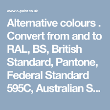 Bs To Ral Conversion Chart Alternative Colours For 10rb 68 081 Purple Polka 5 From The