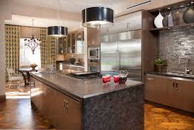 hollywood glamour inspiration for a contemporary kitchen remodel in san diego with stainless steel appliances anatomy eat kitchen