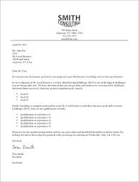 Sample Cover Letter For Business Proposal Achievable Introduction