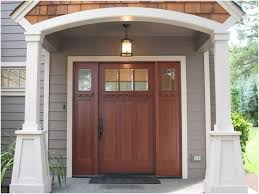 front door hardware craftsman. Plain Craftsman Wood Front Doors With Sidelights  A Guide On Craftsman Entry Door Hardware And I