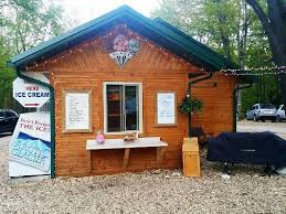cabin camping in the woods. Photo Of Ice Cream Shack At Gammy Woods Campgrounds In Central Michigan Cabin Camping The