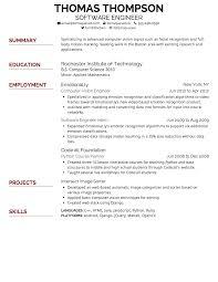 Resume Font Type Resumes Best Executive Thomasbosscher