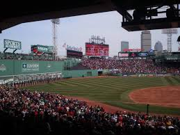 Fenway Park Section Grandstand 27 Row 10 Seat 5 Boston