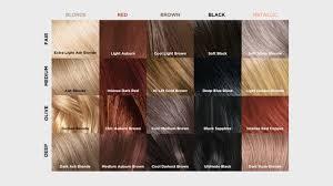 Black Hair Shades Chart