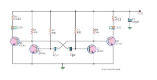 super 12v light flasher circuit using h1061 eleccircuit com 12 Volt Flasher Circuit Diagram super flashing light by c1061 12 volt led flasher circuit diagram