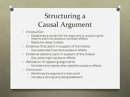 chapter causal arguments eng composition i ppt 13 structuring a causal argument