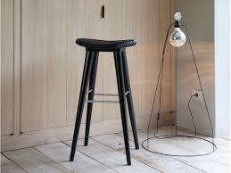 black and white bar stools. Posa Bar Stool Rattan On Top Black And White Stools O